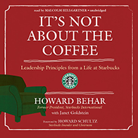 It's Not About the Coffee (Audiobook)